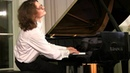 Debussy Feux d'artifice duet by pianist and his audience Leonid Egorov piano