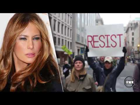 After Melania Suddenly Appeared Today Liberals Make Disgusting Accusation About What Trump Did To He