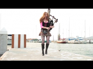 #Goddesses_of_Bagpipe - Shipping Up To Boston Enter Sandman - (Bagpipe Cover)