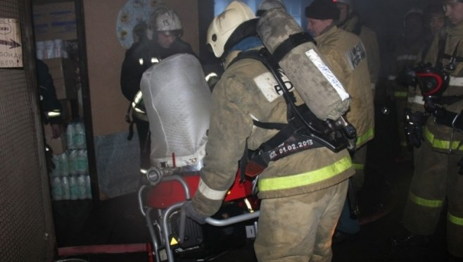 В Марий Эл пожарные спасли 8 человек