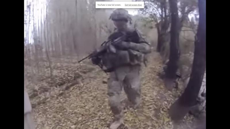 US Soldiers ambushed, return fire, killing three Taliban. Helmet Cam footage