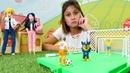 Ayşe ile kız oyunları Marinette Chase Adrien ve Ken oyuncakları