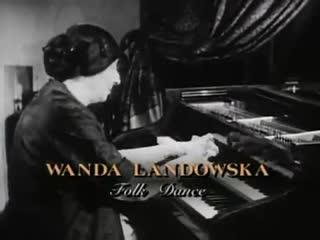 Wanda Landowska - Folk Dance