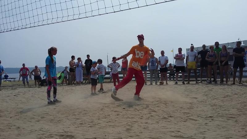 15 07 2018 Пляж небольшой перфоманс Спортивный фестиваль памяти олимпийца Николая Хренкова