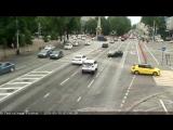 ДТП на ул. Красная (Театральная площадь), Краснодар, 10 мая
