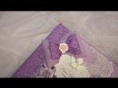 Урааааа!Готов! Свадебный красавчик-фотоальбом, размер 21х21, ручной работы с 0.Внутри 30 плотных листов,цвета нежной сирени, при