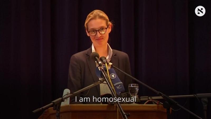 I am homosexual - лидер самой успешной немецкой правой Партии