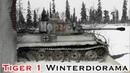 Tiger 1 Winter Diorama Teil 5 Schneeeffekt von Krycell. Modellbau Panzer