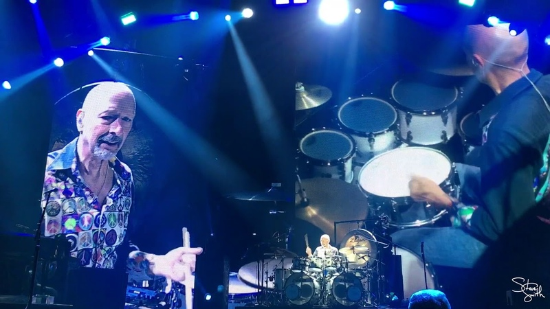 Steve Smith Drum Solo with Journey: Knoxville 2018