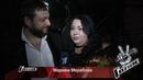 Мариам Мерабова - Интервью после Финала: «Яболела заСашку Воробьеву» [Голос-3, Финал, 26.12.2014]