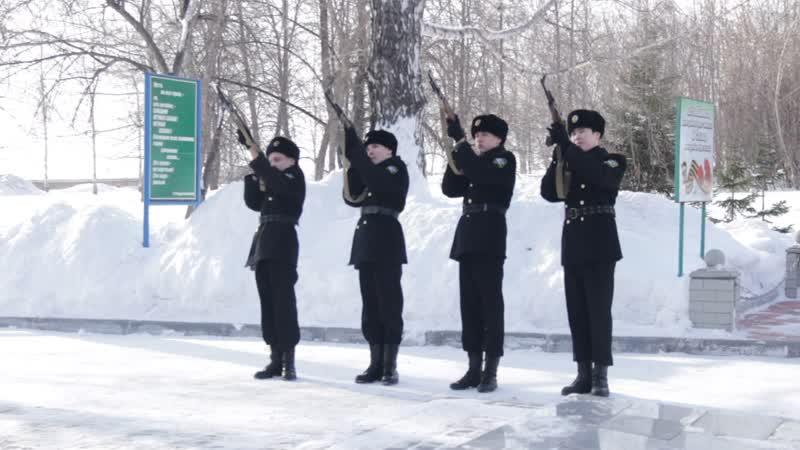 Вахта памяти, посвященная 30-летию вывода советских войск из Афганистана