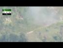Муджахеды повстанцы показали видео момента уничтожения диверсионной группы Асада