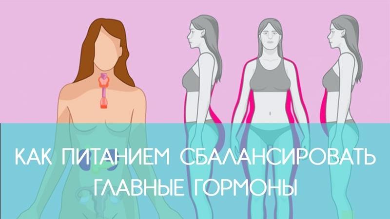 ГОРМОНЫ: Как питанием сбалансировать главные гормоны   ECONET.RU