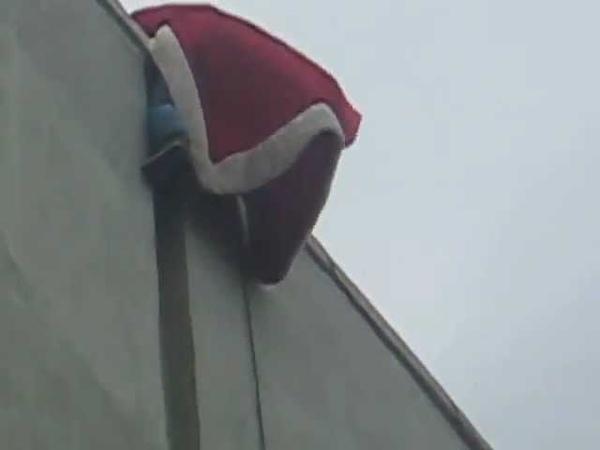 Дед Мороз-Спайдермен