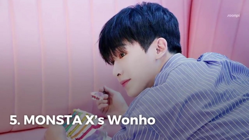 [VK][180620] MONSTA X - 10 K-Pop Idols Who Could Be Mistaken For Being Maknaes Of Their Group @ Soompi