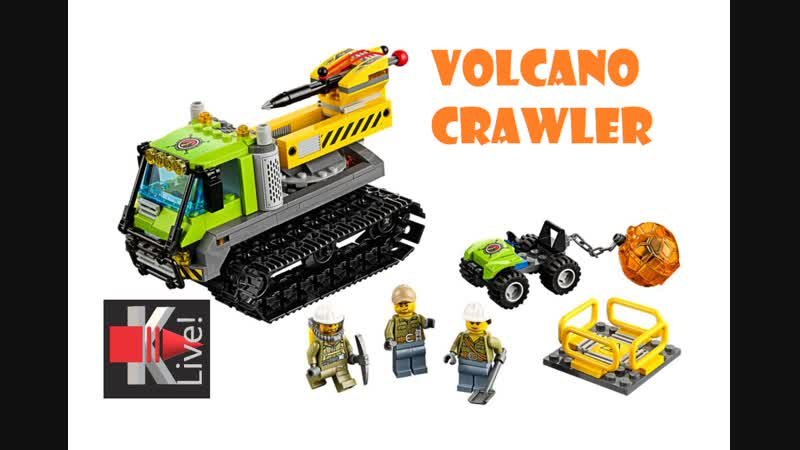 Lego City Исследователи вулканов