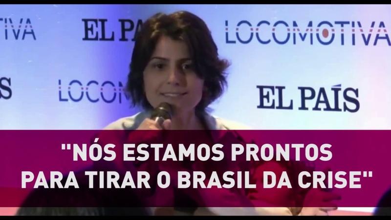 Estamos prontos para tirar o Brasil da crise [Manu no Debate El País]