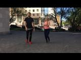 Танцы в Москве. Артем Левин и Александра Сирото