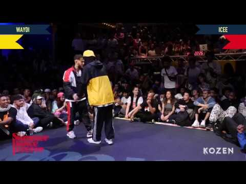 Waydi vs Icee SEMI FINAL Hiphop Forever Warrior Edition - Summer Dance Forever 2018