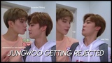 a whole video of jungwoo being rejected