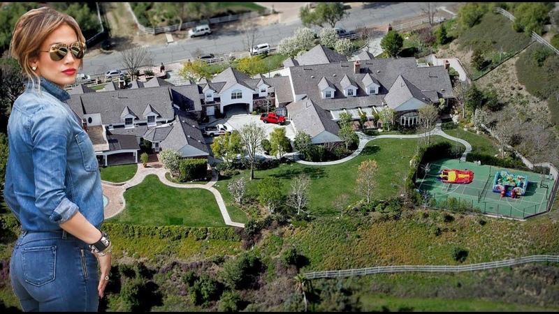 Jennifer Lopez House In Hidden Hills - 2017 (Inside Outside)