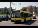 Автобус Минска МАЗ-103,гос.№ АЕ 8107-7, марш.115э (07.07.2018)