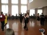 Моё выступление на турнире по спортивным-бальным танцам. H класс.Латино-американская программа.=)