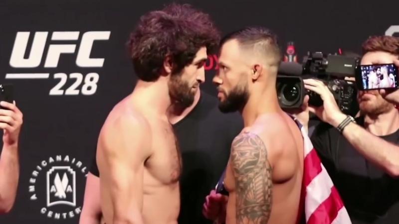 Забит Магомедшарипов vs Брендон Дэвис БИТВА ВЗГЛЯДОВ UFC 228_HD.mp4