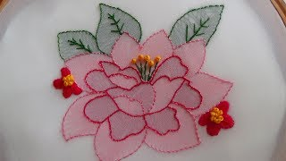 Hand Embroidery Shadow Work