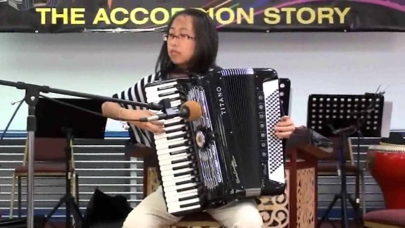 手風琴獨奏:草原上升起不落的太陽 (Accordion Solo:Sun of Inner Mongolia)