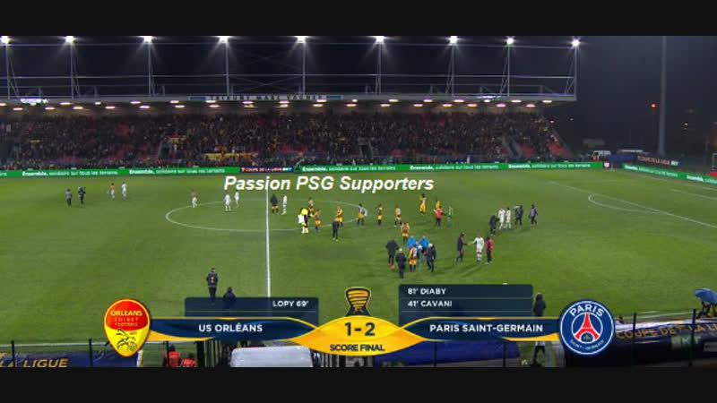 Orléans vs Paris 1 2