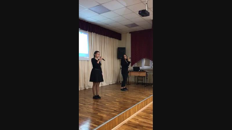 День Героев Отечества Бабилоева М и Хошафян Д Песня Птицы белые 7 12 2018 год