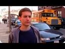 Peter Parker correndo atrás do Ônibus | Homem-Aranha (2002)