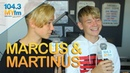 Marcus Martinus Teaches Jill Norwegian Talks 'Moments', Getting Their Career Start More