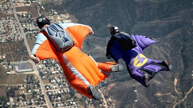 2011 - 05 - Skydive Elsinore Wingsuit Flying