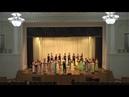 Академический хор Ad libitum ХНУ имени В.Н.Каразина, колядка Ой, як прилітали 2 соколоньки