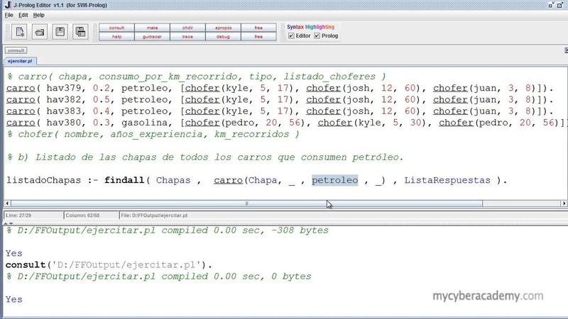 Tutorial Prolog 26 Función findall