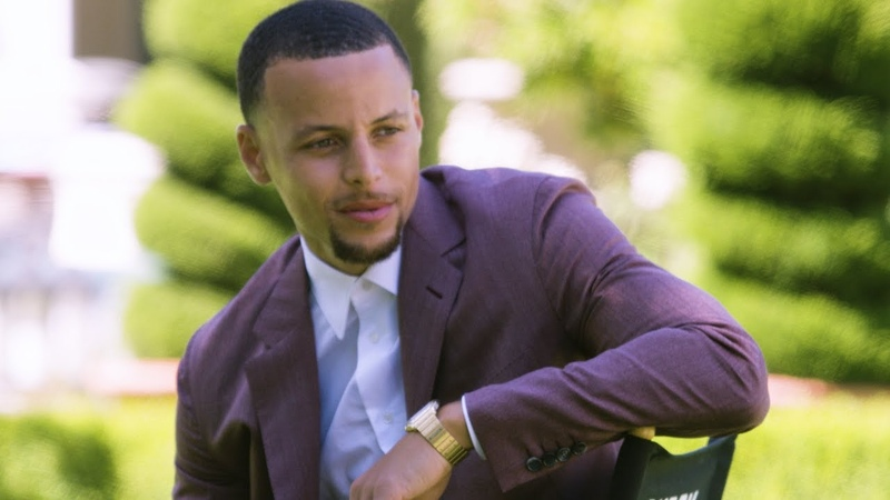 Stephen Curry - Behind the Scenes of the Variety Cover Shoot