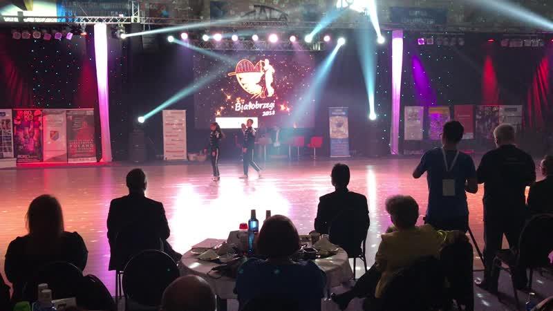 World couple dance championship, Poland | Максим Истомин и Регина Цокур | клуб Движение
