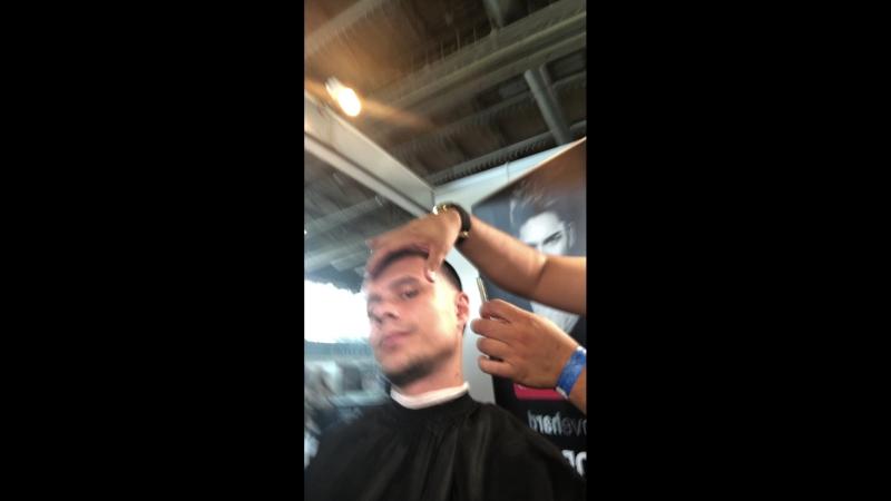 Продолжение стрижки @authentic_barbers