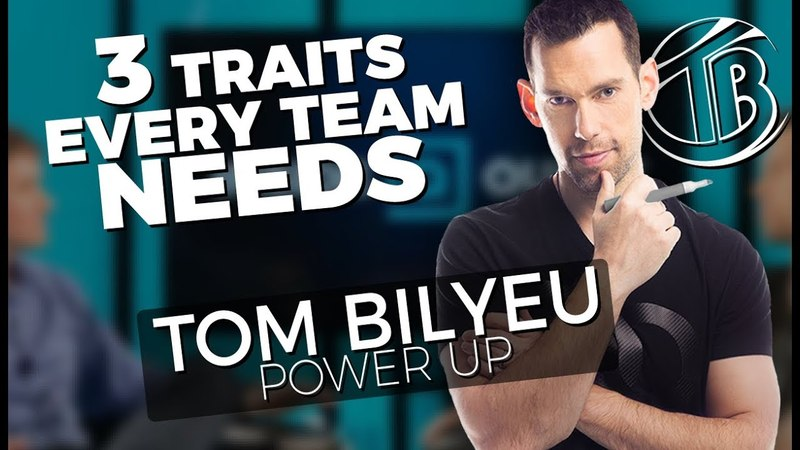POWER UP! - 3 Traits Every Team Needs - Tom Bilyeu » Freewka.com - Смотреть онлайн в хорощем качестве
