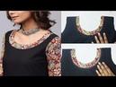 Kurta Kurti Neckline With Salwar Leftover Fabric DIY