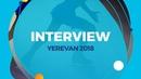 Alexandra Trusova RUS Interview Yerevan 2018