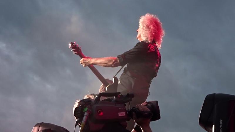 Queen Adam Lambert Under Pressure - Marlay Park Dublin -08-07-18