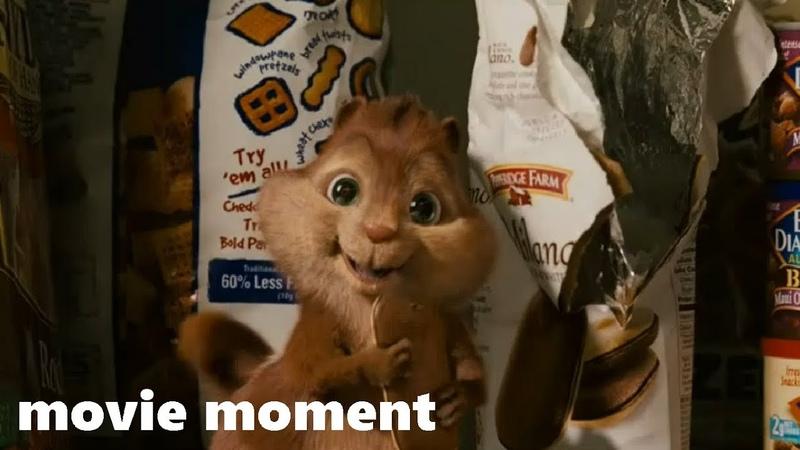 Элвин и бурундуки (2007) - Проблемы c бурундуками (1/7) | movie moment