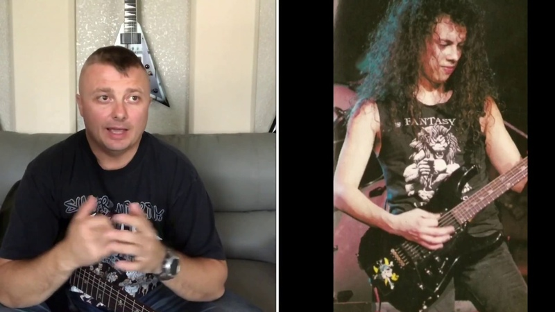 ESP KH. Эволюция гитар Кирка. 1я серия.