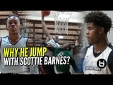 WHY HE JUMP WITH SCOTTIE BARNES TWO #1 Players On The SAME TEAM! NOT FAIR