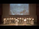 Мужской хор Московского Данилова монастыря исполняет песню Тимура Зульфикарова
