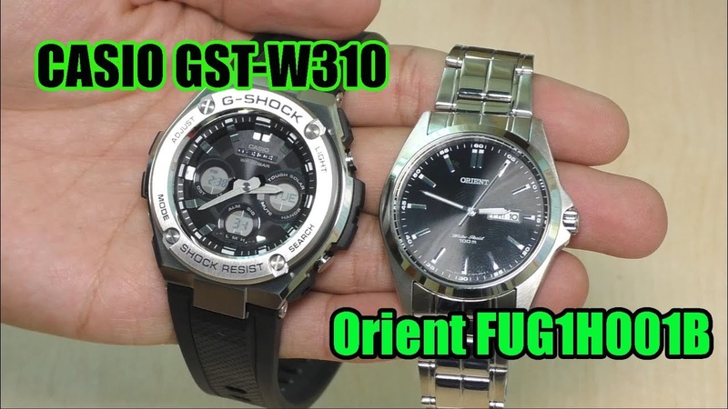 Watch Casio GST-S310 and Orient FUG1H001B и проблемы