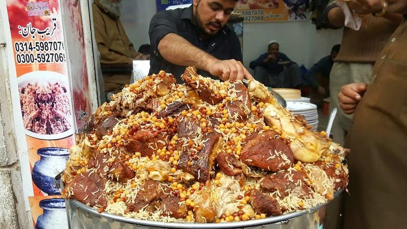 Zaiqa Chawal Qissa Khwani Bazar Peshawar Peshawari Chawal Pakistani Street Food PeshawarX